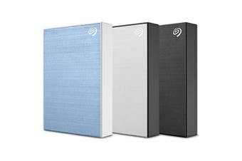 Seagate Backup Plus Portable external hard drive 5000 GB Blue