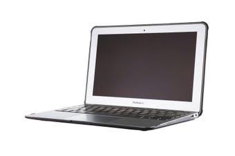 "STM dux for MacBook Air 13"" notebook case 33 cm (13"") Cover Black,Transparent"