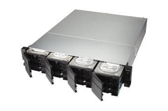 QNAP TS-1273U-RP Ethernet LAN Rack (2U) Black,Grey NAS