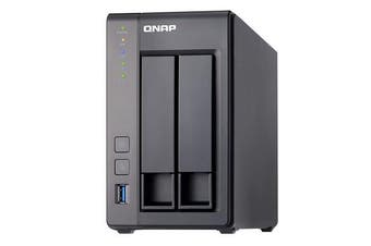 QNAP TS-251+ J1900 Ethernet LAN Tower Gray NAS