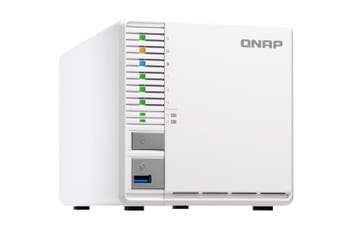 QNAP TS-351 J1800 Ethernet LAN Tower White NAS
