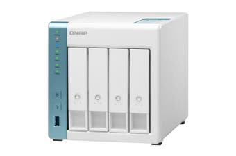 QNAP TS-431K NAS/storage server Alpine AL-214 Ethernet LAN Tower White