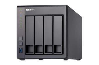QNAP TS-431X2 Ethernet LAN Tower Black NAS