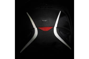 "Targus Strike notebook case 43.9 cm (17.3"") Backpack Black,Red"
