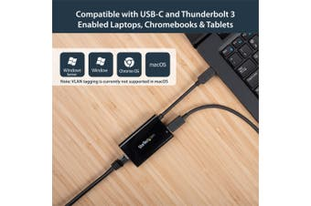 StarTech.com USB-C to Gigabit Network Adapter with PD Charging