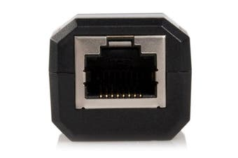 StarTech.com Compact Black USB 2.0 to 10/100 Mbps Ethernet Network Adapter