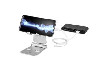 StarTech.com Phone and Tablet Stand - Foldable Universal Mobile Device Holder