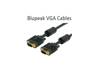 BLUPEAK 2M VGA MONITOR CABLE MALE TO MALE (LIFETIME WARRANTY)
