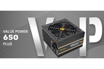 Antec VP650P PLUS 650w 80+ Certified @ 85% Efficiency AC 120V - 240V, Continuous