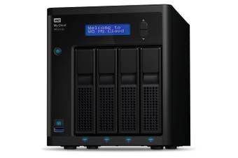 Western Digital My Cloud Pro Series PR4100 Ethernet LAN Desktop Black NAS