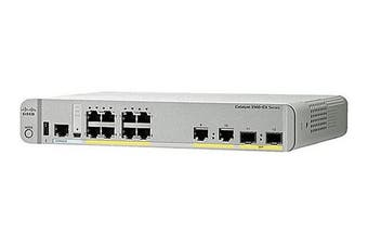 Cisco WS-C3560CX-8PC-S network switch Managed Gigabit Ethernet (10/100/1000)