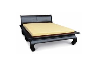 CT Opium Leg Queen Size Bed - Chocolate