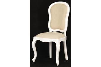 CT Queen Ann Dining Chair - White