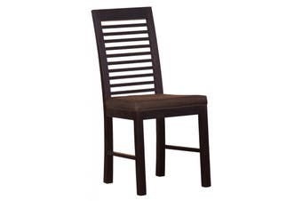 CT Holland Dining Chair and Cushion - Chocolate