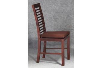 CT Holland Dining Chair and Cushion - Mahogany