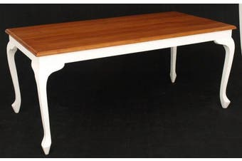 CT Queen Ann Dining Table - Two-toned