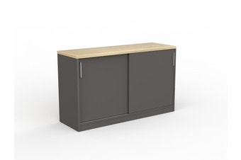 EkoSystem Credenza with New Oak color - 720 x 1200 x 400mm