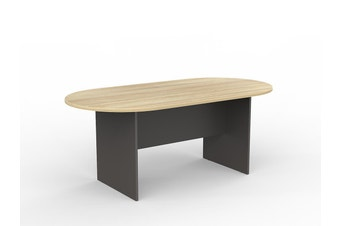 EkoSystem Meeting Table with New Oak color - 1800 x 900mm