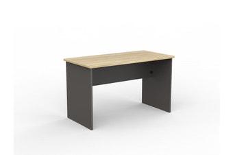 EkoSystem Straightline Desk with New Oak color - 1200 x 600mm