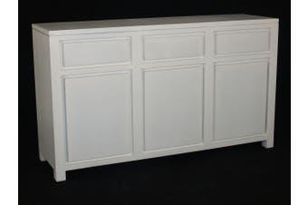 CT Amsterdam 3 Door 3 Drawer Buffet - White