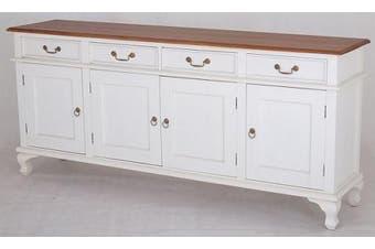 CT Queen Ann 4 Door 4 Drawer Buffet - Two-toned