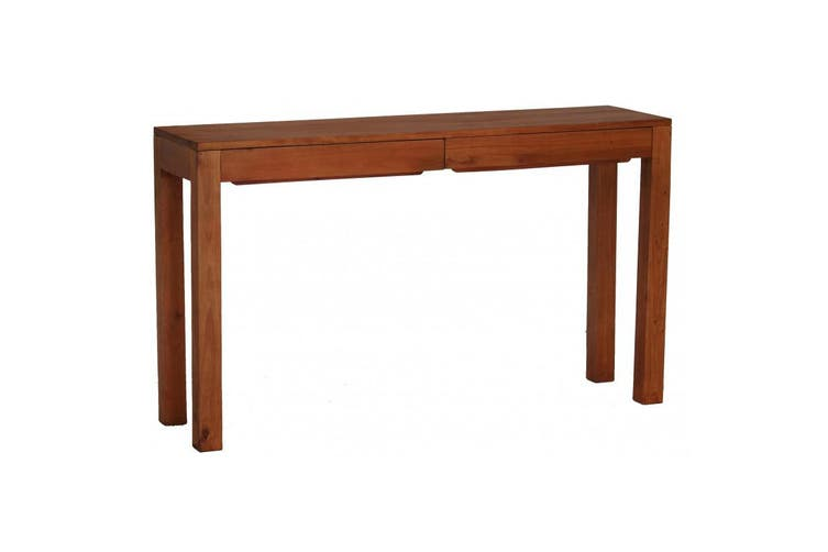 CT Amsterdam 2 Drawer Sofa Table - Light-pecan