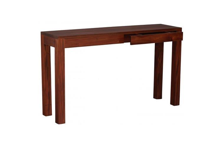CT Amsterdam 2 Drawer Sofa Table - Mahogany