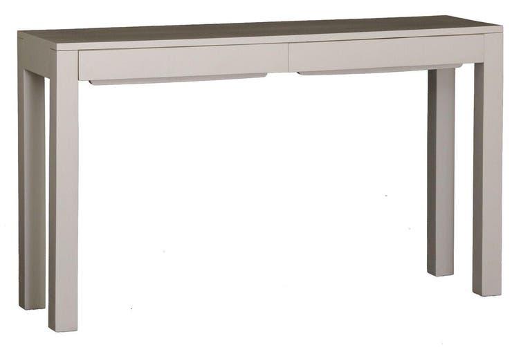 CT Amsterdam 2 Drawer Sofa Table - White
