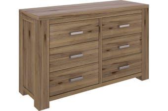 VI Ashfield Acacia Timber Dresser Rustic Finish