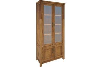 VI Tuscan Mountain Ash Display Unit 4 Doors