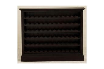 CT Wine Rack Wide (78 wine bottles) - Chocolate