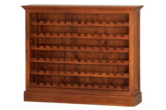 CT Wine Rack Wide (78 wine bottles) - Light-pecan