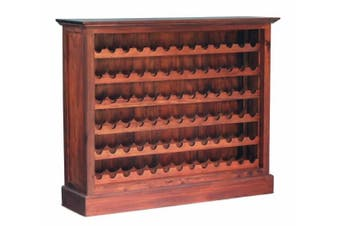 CT Wine Rack Wide (78 wine bottles) - Mahogany