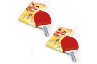 2x DHS 3006 3 Star Table Tennis Bat Racket Short Handle Ping Pong Paddle Penhold
