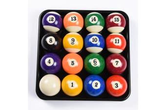 2 Inch Pool Billiards Ball Set&Plastic Balls Tray