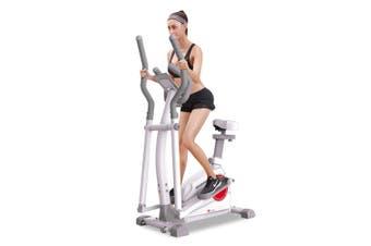 QM1001 Exercise Bike Elliptical Cross Trainer 5Kg Home Gym Fitness Machine White
