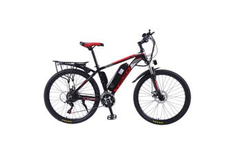 "IRUKA 26"" Electric Bike City Bikes Bicycles 350W Assisted Bicycle Women Men Red"
