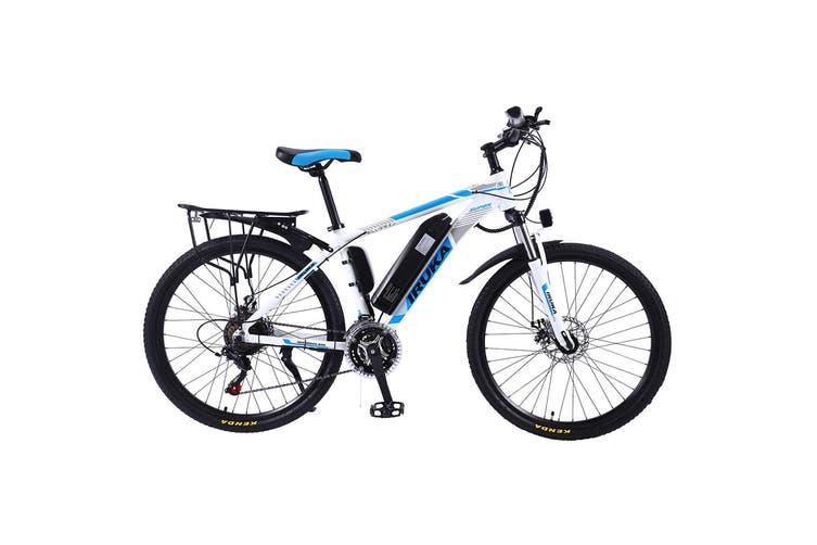 "IRUKA 26"" Electric Bike Bikes Bicycles 350W Assisted Bicycle eBike Blue Adult"