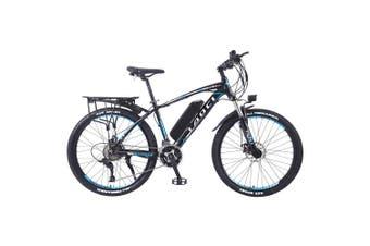 "TAOCI 01 26"" Electric Bike Bikes Bicycles 350W 36V Assisted Bicycle eBike Adult Black/Blue"