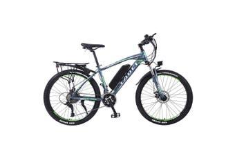 "TAOCI 01 26"" Electric Bike Bikes Bicycles 350W 36V Assisted Bicycle eBike Adult Grey/Green"