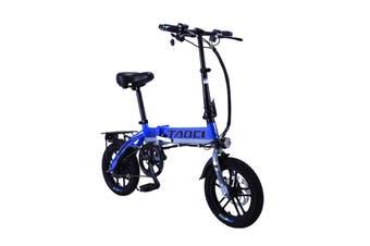 """TAOCI 250W 36V Folding Electric Bike 14"""" eBike Road w/ Battery Alloy Frame"""