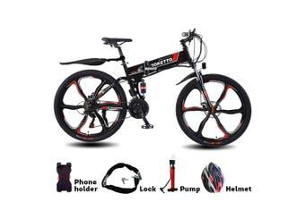 "2020 ROKETTO 350W 36V BM Folding Electric Bike eBike Mountain Bicycle 26"" Tire"