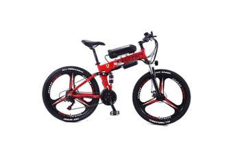 "AKEZ 350W 36V Custom Look Branded Logo Electric Bike eBike Mountain Motorized Bicycle 26"" FLL"