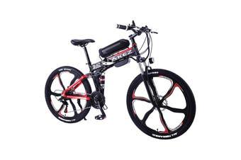 """AKEZ 350W 36V LH Electric Bike eBike Mountain Motorized Bicycle 26"""" w/ Removable Battery"""