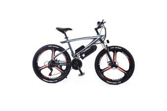 "AKEZ 350W 36V Custom Look Branded Logo Electric Bike eBike Mountain Motorized Bicycle 26"" LS"