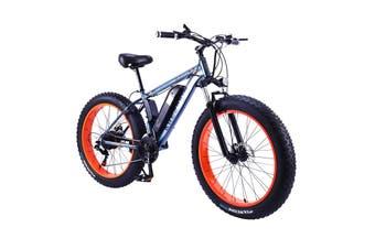 """AKEZ 350W 36V Snow Motorized Bicycle Electric Bike eBike Alloy Frame 26"""" w/ Battery"""