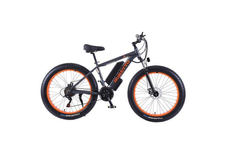 ROKETTO 350W 36V Snow Motorized Bicycle Electric Bike eBike Alloy Frame