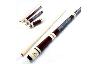 "EastPoint 4-Piece Pool Cue for Billiard Snooker - Brown Length Adjustable  43"" 48"" 52"" 57"""