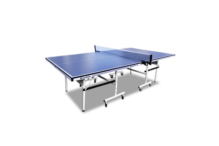2019 Blue 16mm Double Happiness Ping Pong Table Tennis Table + Free Gift Pack