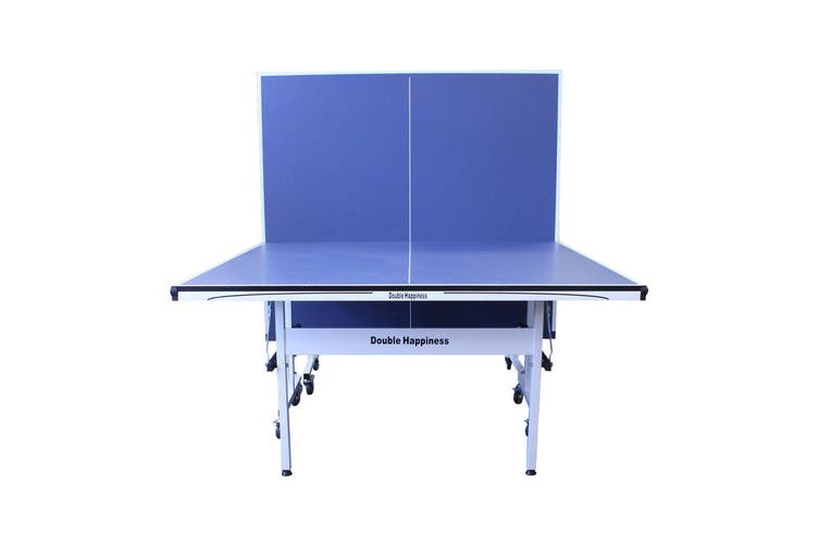 19MM DOUBLE HAPPINESS PORTABLE TABLE TENNIS TABLE + FREE ACCESSORIES PACK